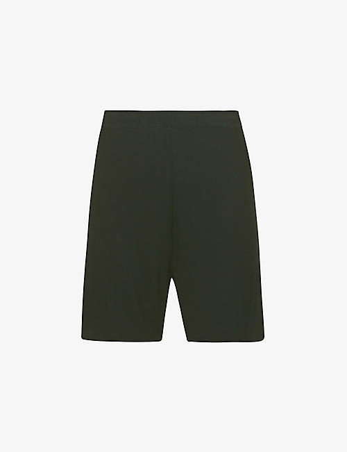 SKIMS: Sleep high-rise stretch-jersey pyjama shorts