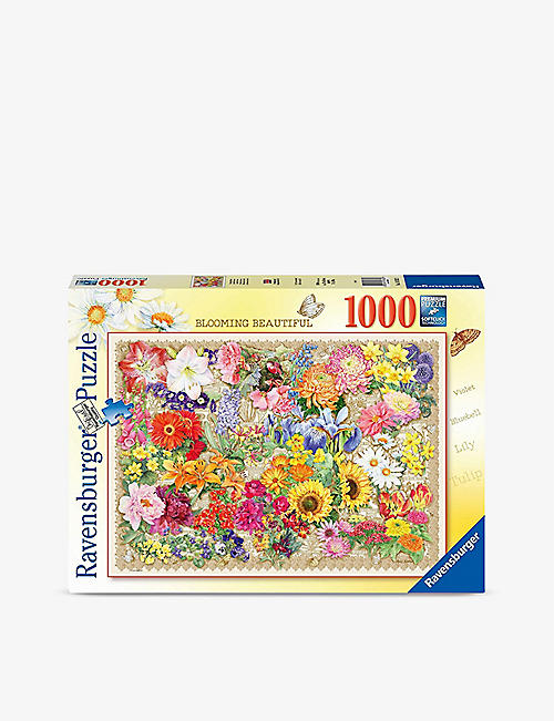 PUZZLES: Blooming Beautiful 1000-piece jigsaw puzzle