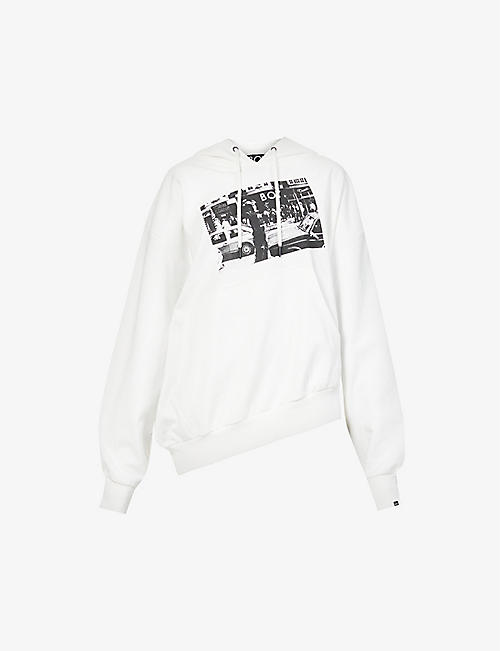 BOY LONDON: Store Front cotton-jersey hoody