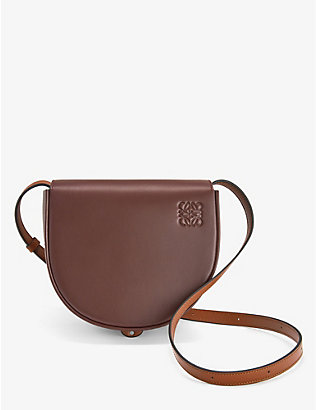 LOEWE: Heel Duo leather shoulder bag