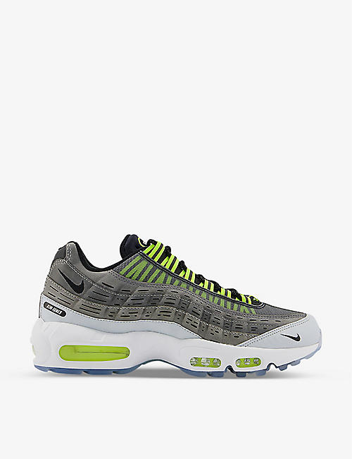 NIKE: Nike x Kim Jones Air Max 95 woven trainers