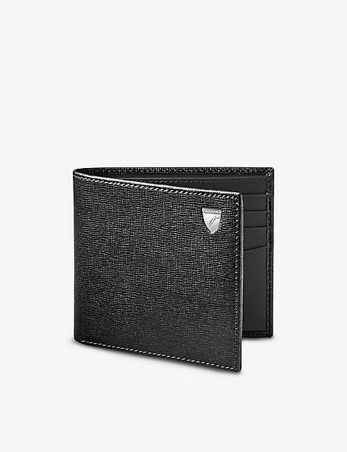 ASPINAL OF LONDON: Saffiano leather billfold wallet
