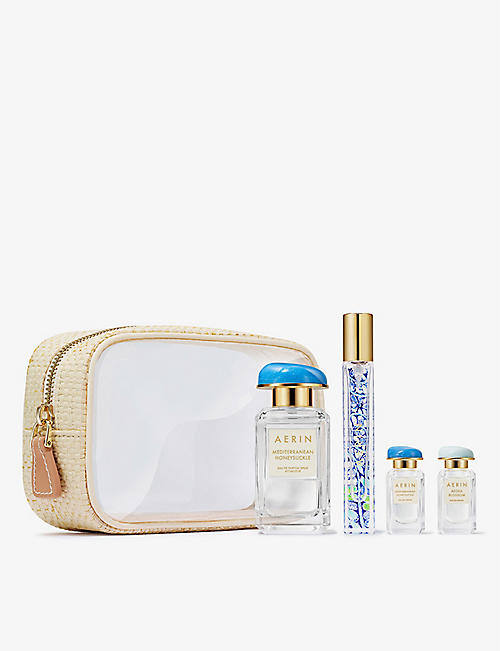 AERIN: Mediterranean Honeysuckle travel set