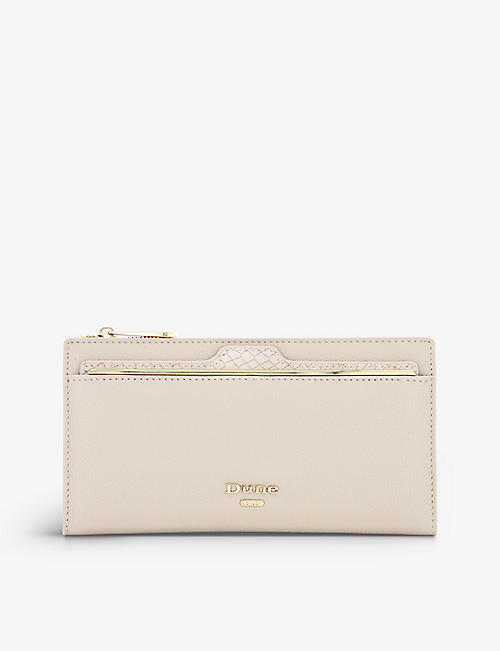 DUNE: Kaydence zip-around removable card-slot purse
