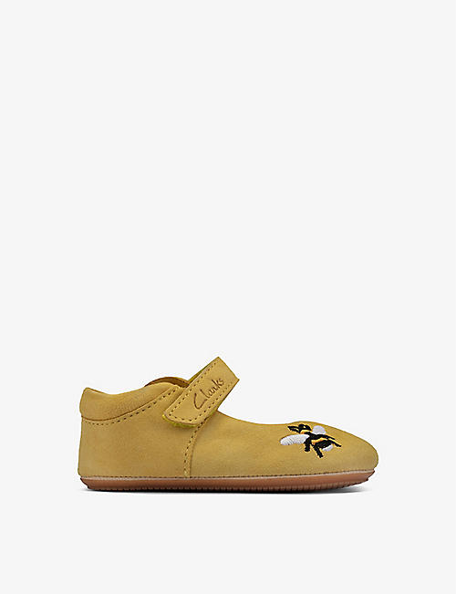 CLARKS: Star Kind leather shoes 0-23 months