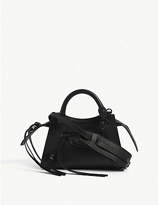 BALENCIAGA: Neo Classic City leather shoulder bag