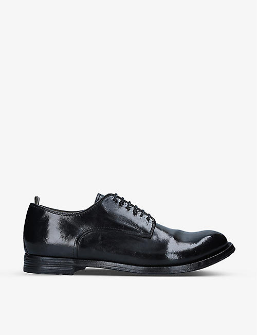 OFFICINE CREATIVE: Anatomia leather Derby shoes