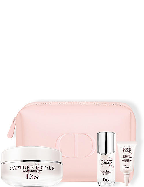 DIOR: Capture Totale Age-Defying Ritual skincare gift set