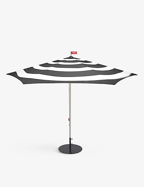 FATBOY: Striped woven and aluminum parasol 200cm