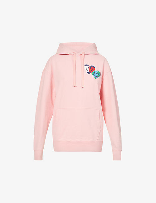 TOMMY JEANS: Luv The World recycled-cotton hoody