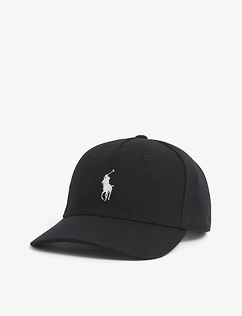POLO RALPH LAUREN: Pony logo-embroidered cotton-blend cap