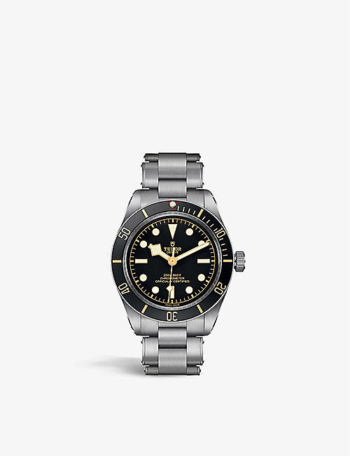 TUDOR: M79030N-0001 Black Bay Fifty-Eight stainless-steel automatic watch
