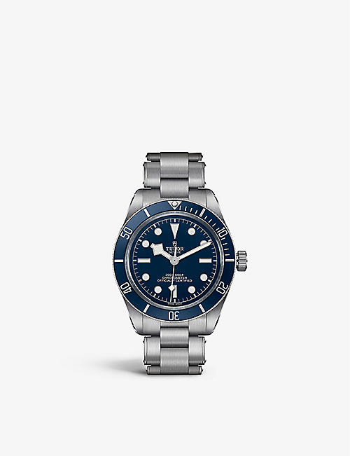 TUDOR: M79030B-0001 Black Bay Fifty-Eight, stainless-steel and automatic watch