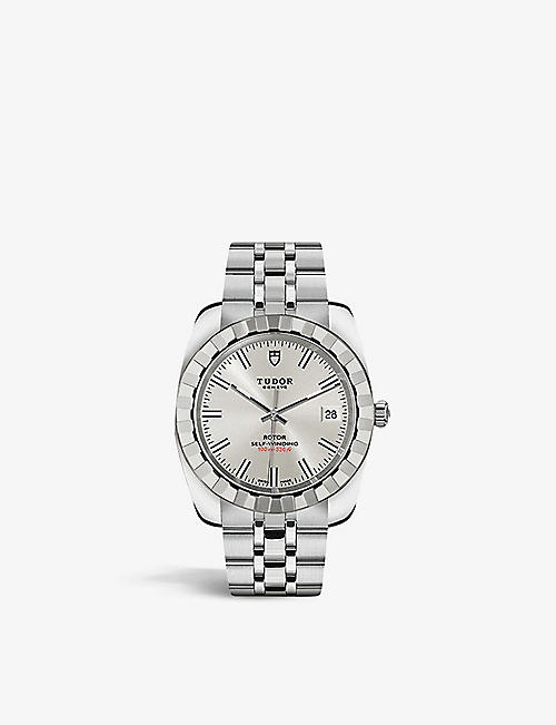 TUDOR: M21010-0004 Classic Date stainless-steel automatic watch