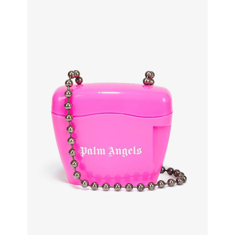 Palm Angels Bags PADLOCK PLASTIC CROSS-BODY BAG