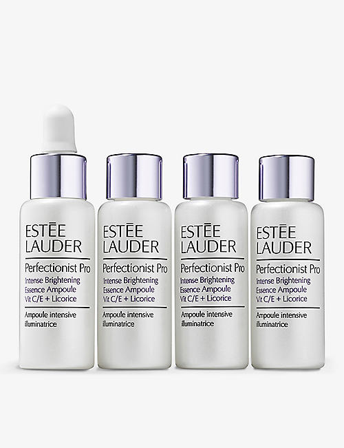 ESTEE LAUDER: Perfectionist Pro Intense Brightening Essence Ampoule serum set of four 10ml
