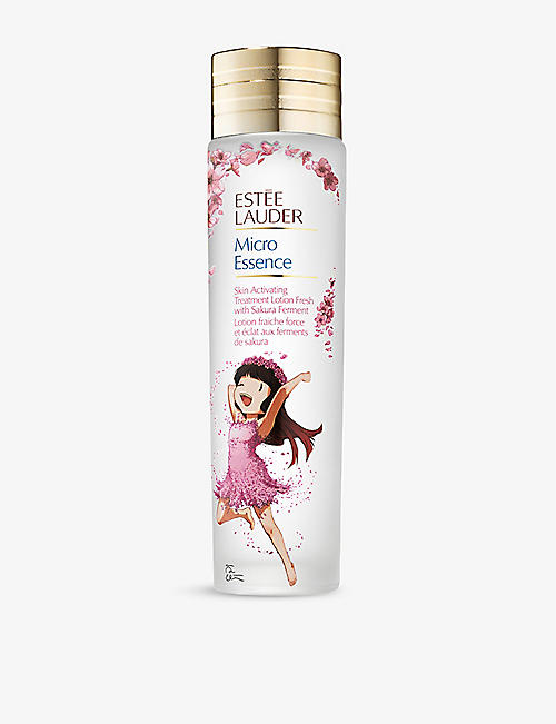 ESTEE LAUDER: Micro Essence limited-edition skin activating treatment lotion with sakura ferment 200ml