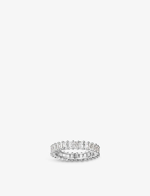APM MONACO: Romance sterling silver and zirconia ring