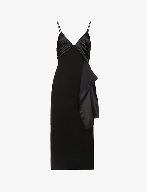 1017 ALYX 9SM: V-neck crepe midi dress