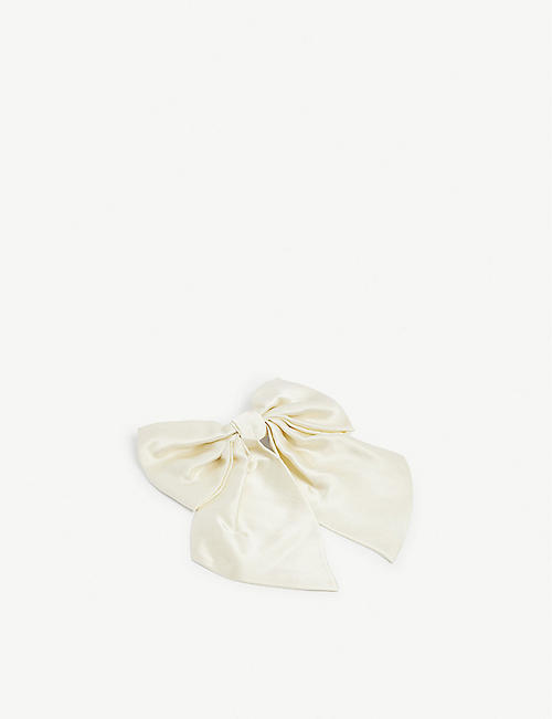 HENRIETTE VON GRUNBERG: Oversized silk hair bow