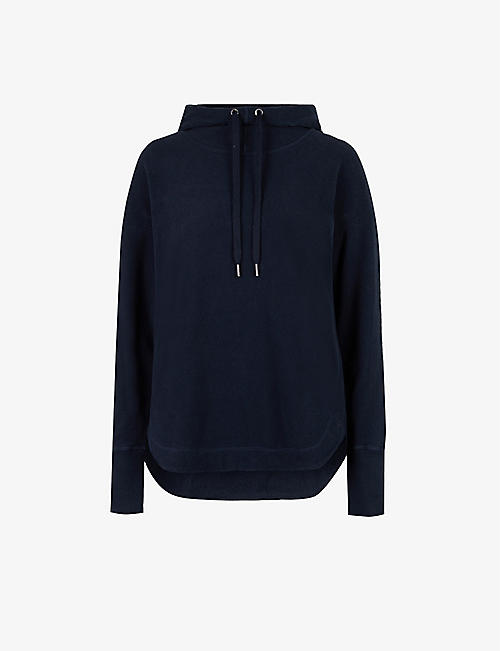 SWEATY BETTY: Escape Luxe recycled-stretch-jersey hoody