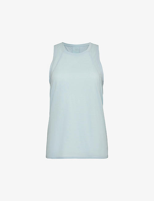 SWEATY BETTY: Pacesetter sleeveless woven top