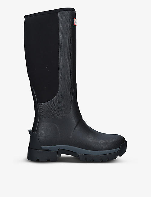 HUNTER: Field Balmoral Hybrid Tall rubber boots