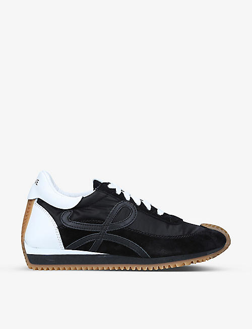LOEWE: Flow Runner leather trainers