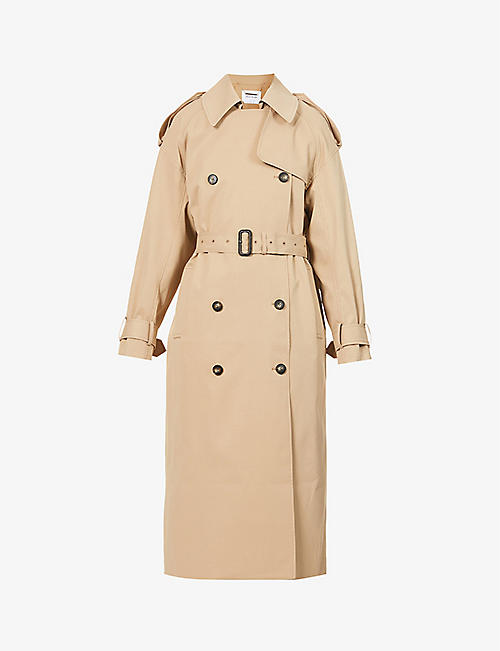 CAMILLA AND MARC: Evans double-breasted woven trench coat
