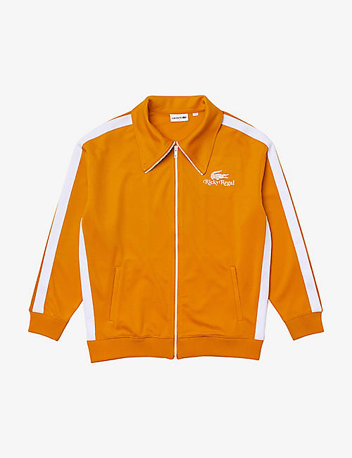 LACOSTE: Lacoste x Ricky Regal side-stripe stretch-woven track jacket