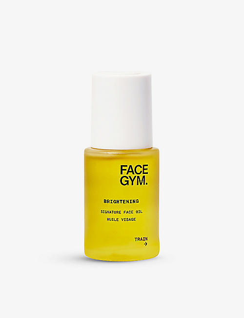 FACE GYM: Brightening Signature face oil 30ml
