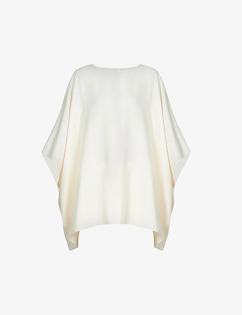 THE ROW: Estela relaxed-fit silk top
