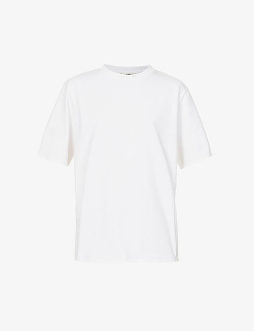 THE ROW: Chiara scoop-neck cotton-jersey T-shirt