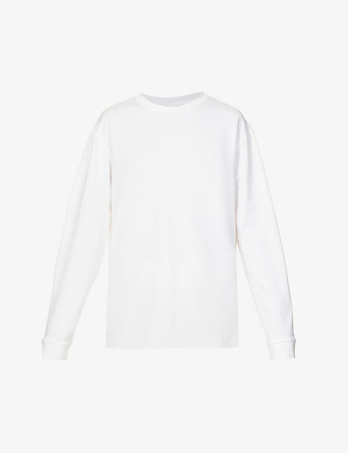 THE ROW: Ciles long-sleeved cotton-jersey T-shirt