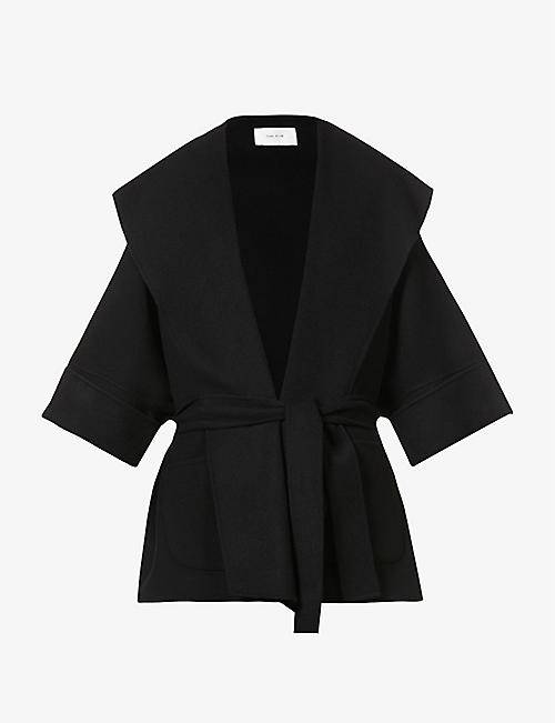 THE ROW: Saki belted wool, cashmere and silk-blend coat