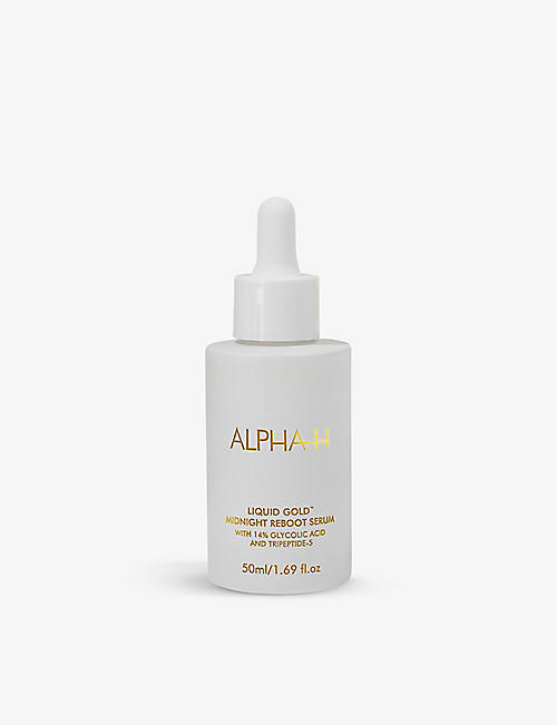 ALPHA-H: Liquid Gold Midnight Reboot serum 50ml