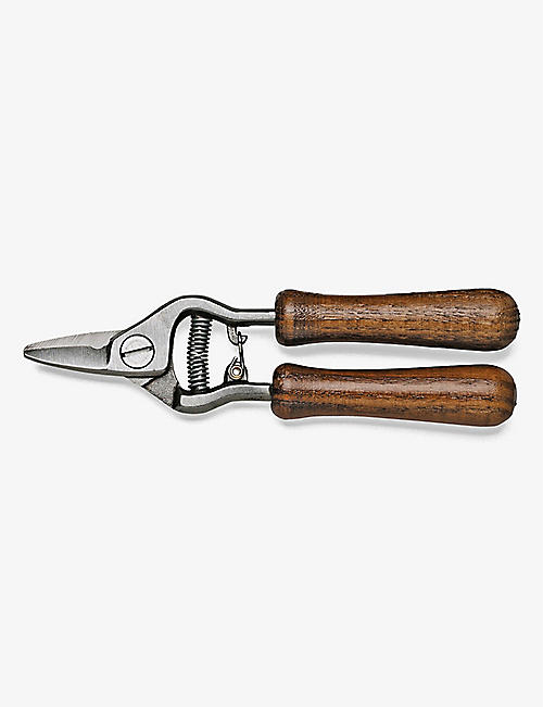 BETAKUT: Steel flower shears with wooden handle 19cm
