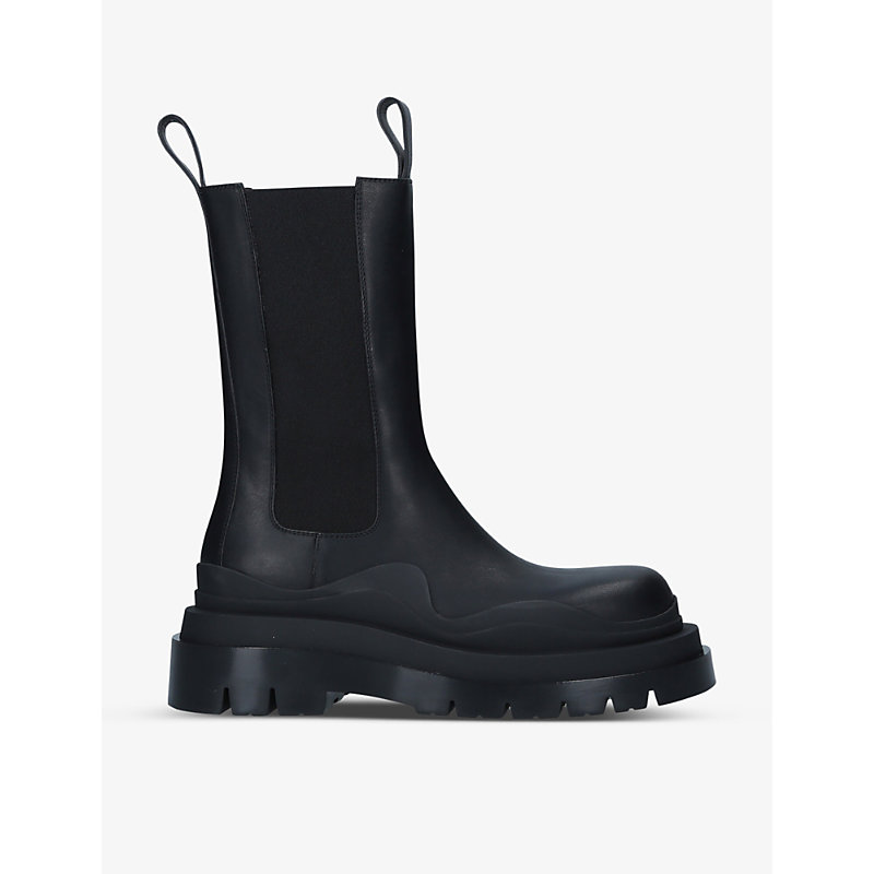 Bottega Veneta Leathers TIRE LEATHER CHELSEA BOOTS