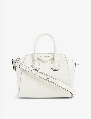 GIVENCHY: Antigona mini grained-leather tote bag