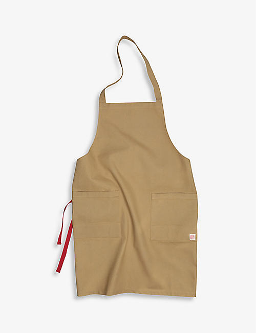 NIWAKI: Logo-patch canvas apron