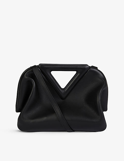 BOTTEGA VENETA: Point small leather shoulder bag