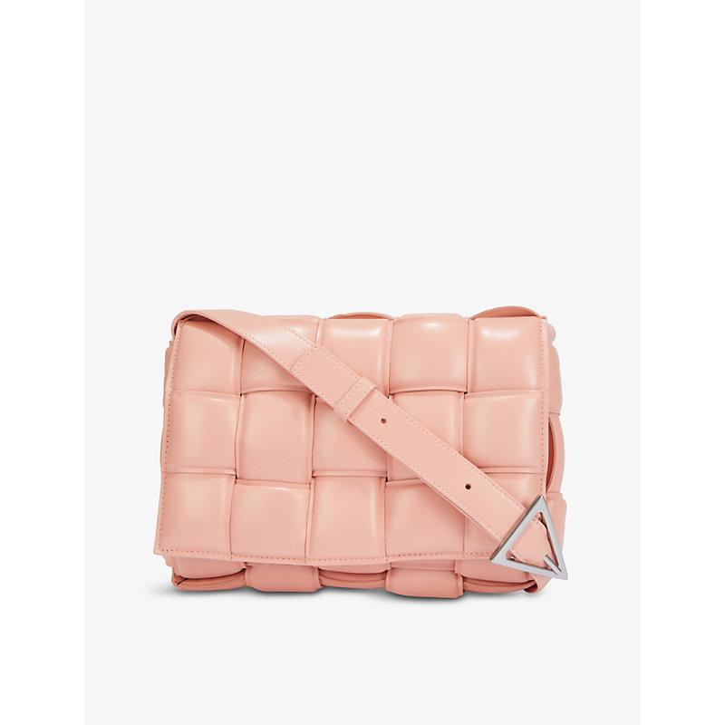 Bottega Veneta Bags PADDED CASSETTE LEATHER CROSS-BODY BAG