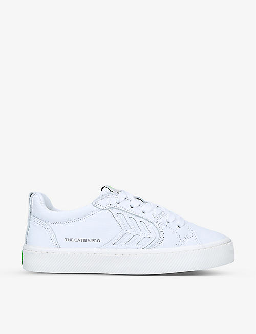 CARIUMA: CATIBA Pro leather low-top skate shoes