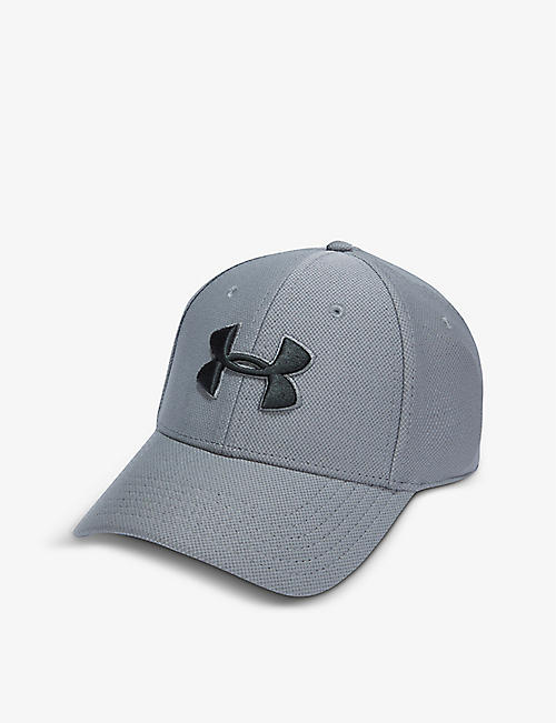 UNDER ARMOUR: Blitzing 3.0 logo-embroidered woven cap