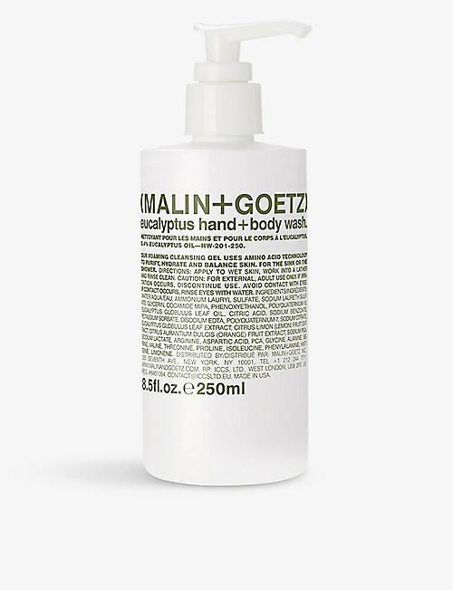 MALIN + GOETZ: Eucalyptus hand and body wash 250ml