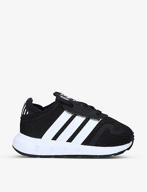ADIDAS: Swift Run X low-top woven trainers 2-5 years