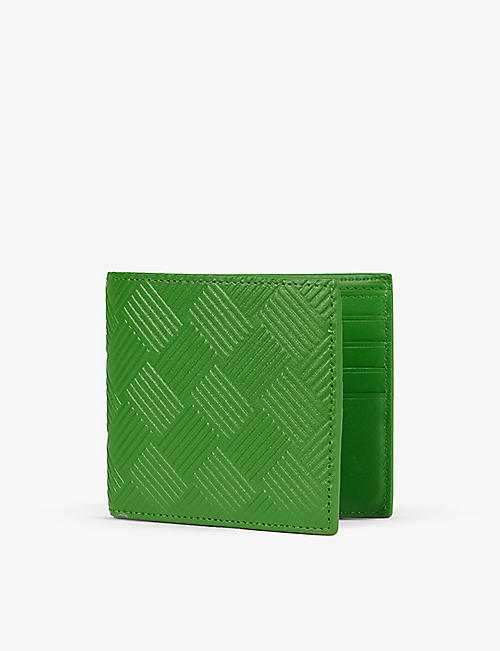 BOTTEGA VENETA: Debossed quilted leather wallet