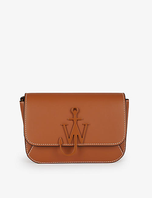 JW ANDERSON: Chain Anchor midi leather shoulder bag