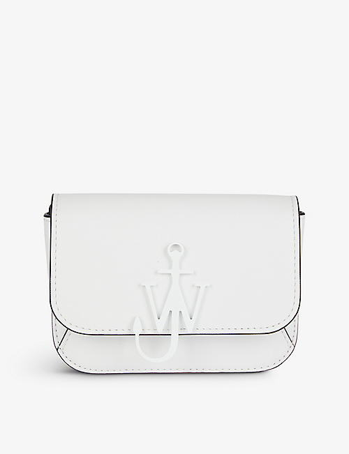 JW ANDERSON: Chain Anchor mini leather shoulder bag