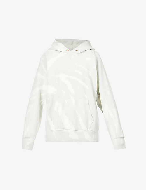 LES TIEN: Relaxed-fit cotton-jersey hoody